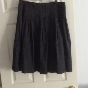 Talbots pure silk skirt